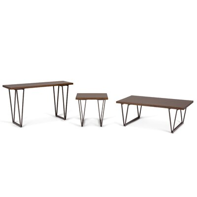 Ryder 3 Piece Coffee Table Set