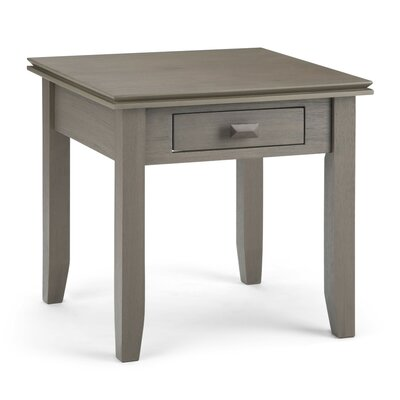 Artisan End Table Color: Farmhouse Gray