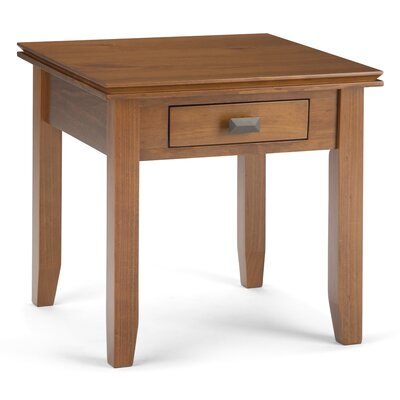Artisan End Table Color: Honey Brown