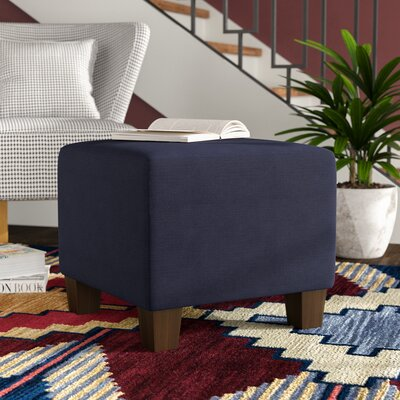 Cube Ottoman Color: Navy