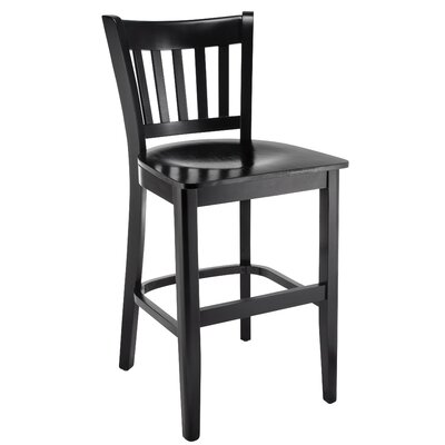Rosales 24 Bar Stool Color: Black