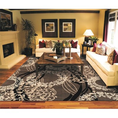 Kirtland One-of-a-Kind Wool Brown Area Rug
