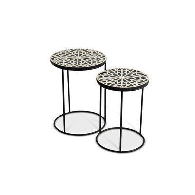 Redington 2 Piece Nesting Tables