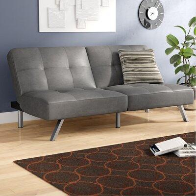 Zandra Convertible Sofa Upholstery: Gray