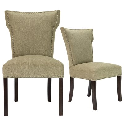 Kober Upholstered Dining Chair Upholstery Color: Gold