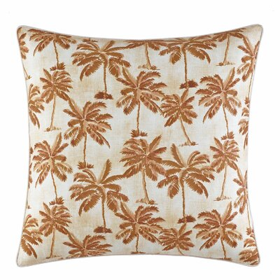 Kamari Printed Palms Throw Pillow by Tommy Bahama Bedding