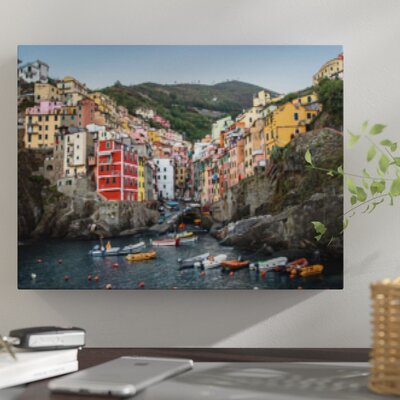'When in Italy' Photographic Print on Wrapped Canvas 33264A83E6024836AD85833E3701B30F