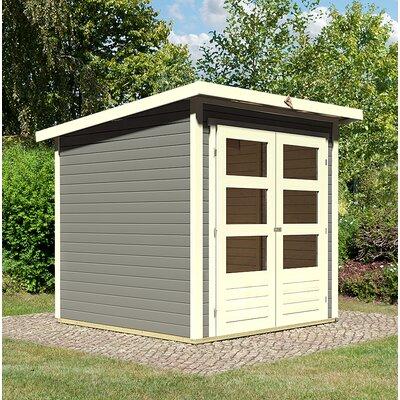 186 cm x 186 cm Gartenhaus Stockach 2 | Garten > Gartenhäuser | Beigegray | Massivholz | Woodfeeling