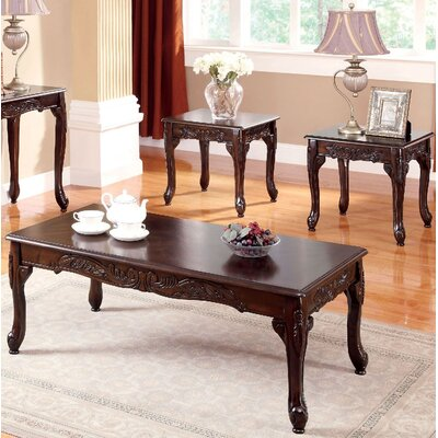 Corington 3 Piece Coffee Table Set