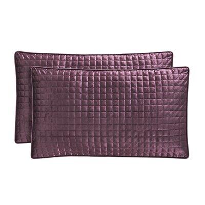Baltasar Velvet Lumbar Pillow Color: Amethyst