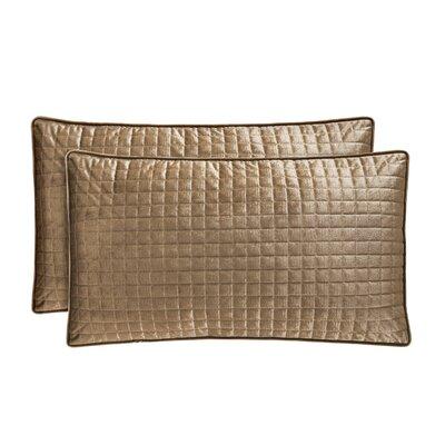 Baltasar Velvet Lumbar Pillow Color: Gold