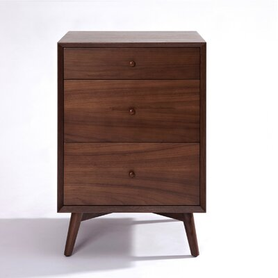 Dovercourt 3 Drawer Nightstand