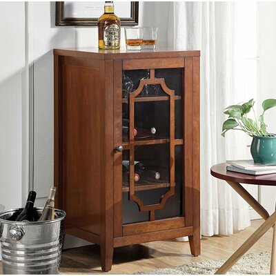 Port Chester Dual Function Bar Cabinet Color: Walnut