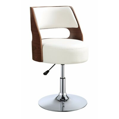 Ezra Stylish Adjustable Height Swivel Bar Stool