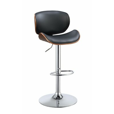 Justin Adjustable Height Swivel Bar Stool