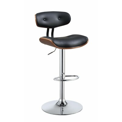 Greyson Voguish Adjustable Height Swivel Bar Stool