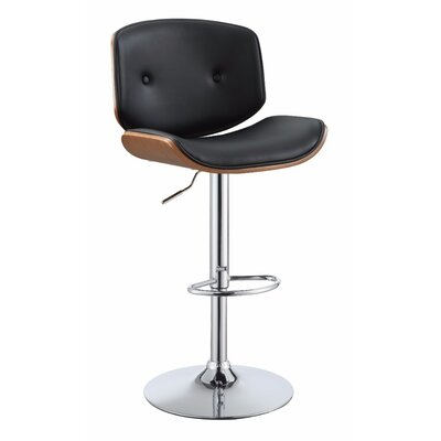 Lee-Abele Adjustable Height Swivel Bar Stool