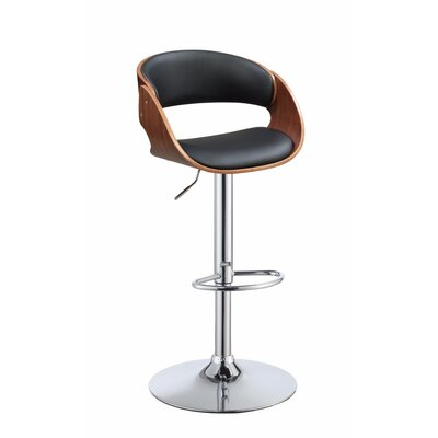 Frias Adjustable Height Swivel Bar Stool