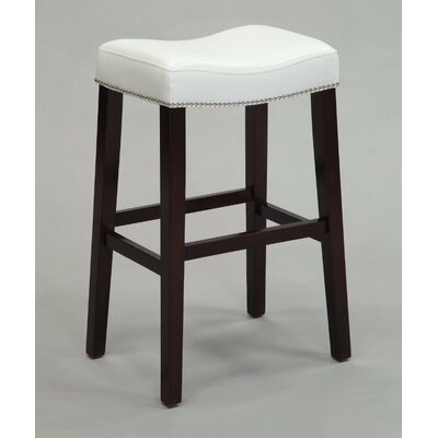 Kist 26 Bar Stool Upholstery: White