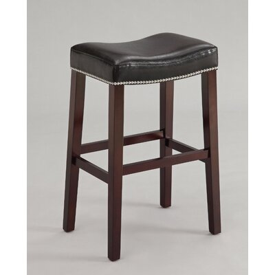 Kist 26 Bar Stool Upholstery: Black