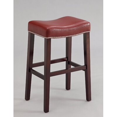 Kist 26 Bar Stool Upholstery: Red