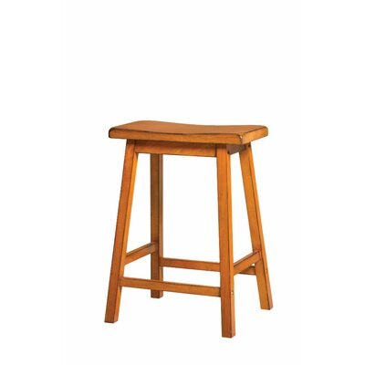 Snipes Wooden 24 Bar Stool Color: Oak