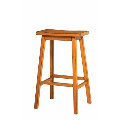 Snowden Wooden 29 Bar Stool Color: Oak