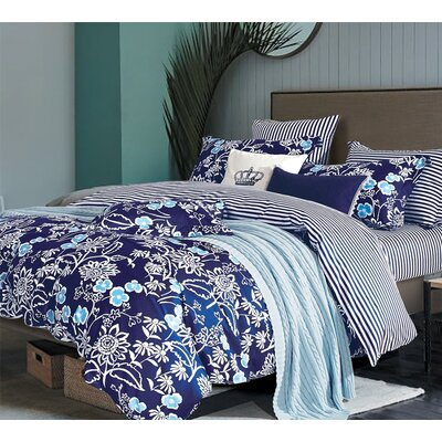 Laffel Percale Sheet Set Size: Queen