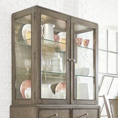 Whicker Display Cabinet Hutch