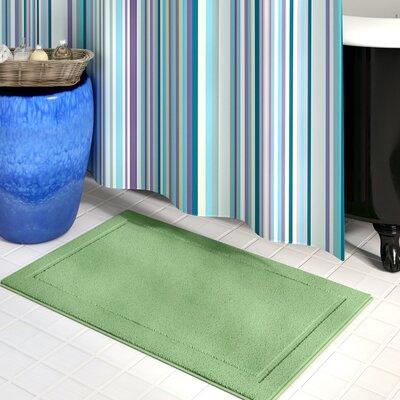 Raelene Bath Rug Color: Sage, Size: 20 W x 32 L