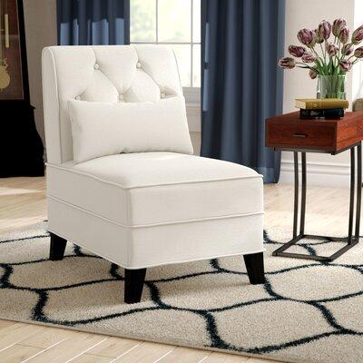 Dequilla Slipper Chair Upholstery: Beige