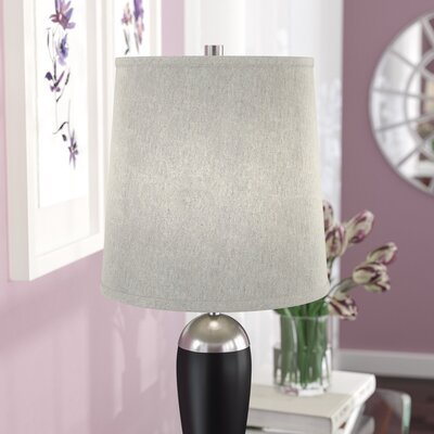 12 Fabric Drum Lamp Shade Color: Oatmeal