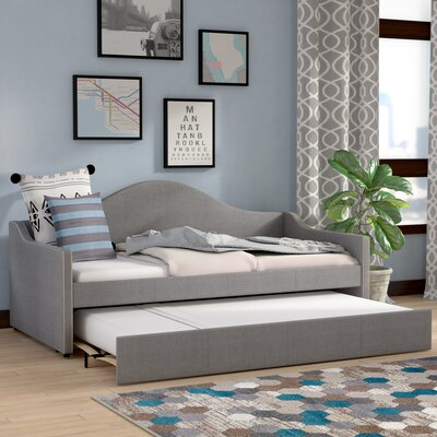 Fabian Daybed with Trundle Finish: Grey