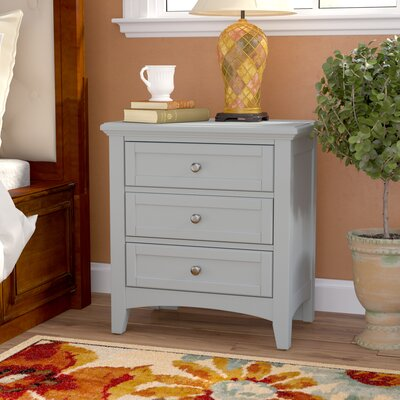 Gastelum 2 Drawer Night Stand Color: Urban Gray