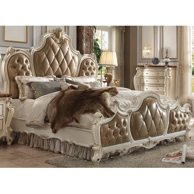 Cowart Upholstered Panel Bed Size: California King