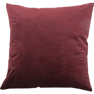 Blace Decorative Throw Pillow Color: Scarlet