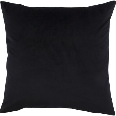 Blace Decorative Throw Pillow Color: Midnight