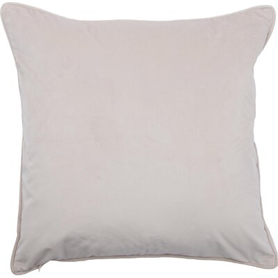 Blace Decorative Throw Pillow Color: Biscuit