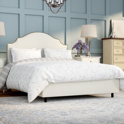 Orta Upholstered Panel Bed Size: Queen, Color: Shantung Pearl