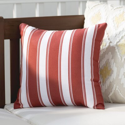 Roslyn Stripes Throw Pillow Size: 16 x 16