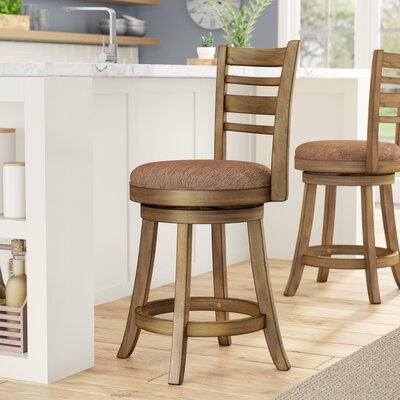 Zaquan 24 Swivel Bar Stool