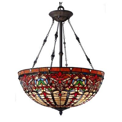 Sari 3-Light Bowl Pendant 826C45A14986488C86CDBD56AF58DCB3
