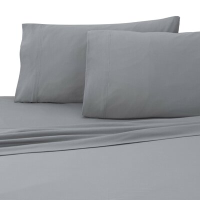 Jersey Sheet Set Size: Twin XL, Color: Gray
