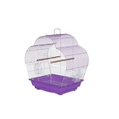 Palm Beach Pet Products Scallop Roof Budgie Cage