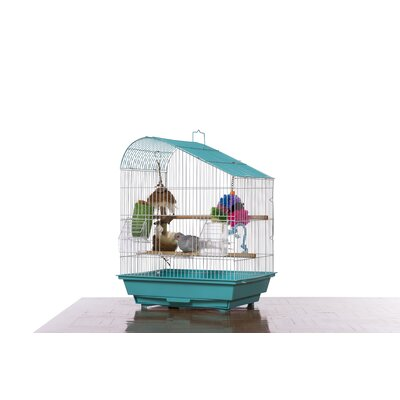 Palm Beach Pet Products Tear Drop Roof Budgie Cage