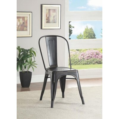Mcmullen Dining Chair Finish: Black