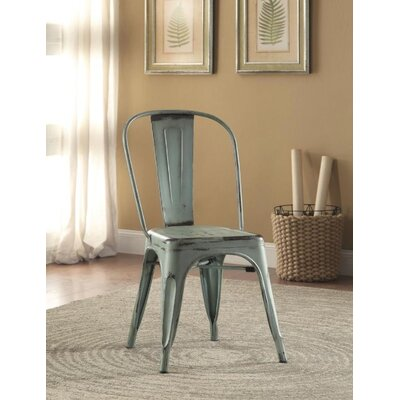 Mcmullen Dining Chair Finish: Blue