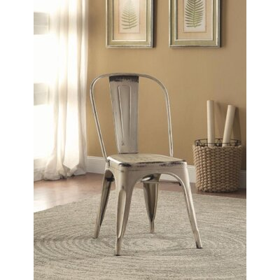 Mcmullen Dining Chair Finish: White