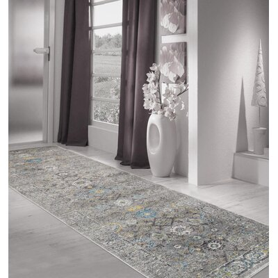 Chelsea Silver Area Rug Rug Size: Rectangle 10 x 14