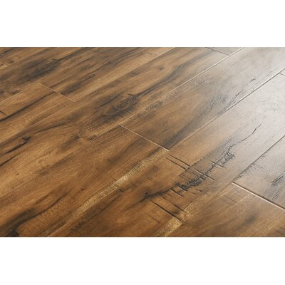 6 x 48 x 12mm Curupy Laminate Flooring in Smokey Tan